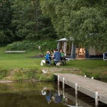 Tot rust komen op de camping
